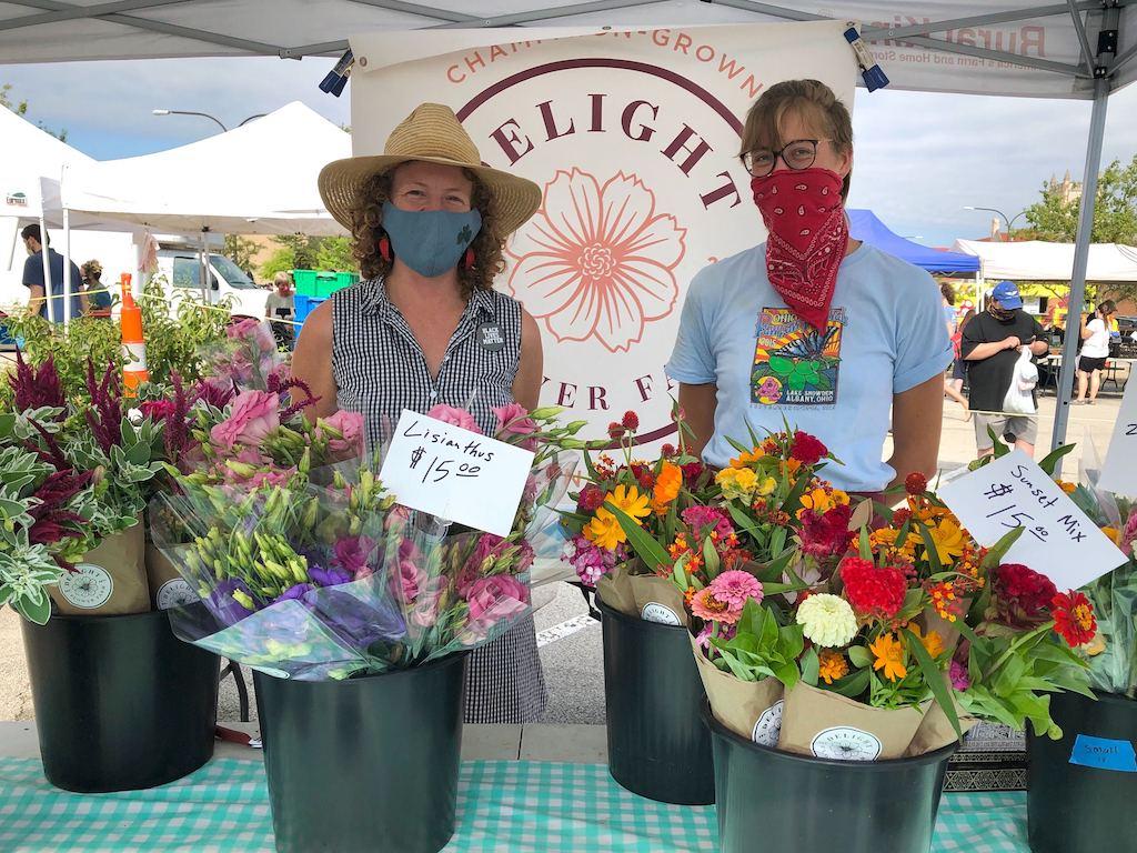 Delight Flower Farm at Urbana Market
