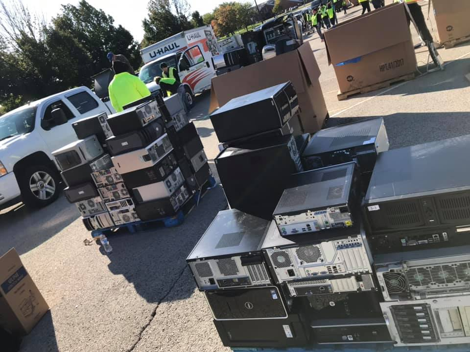 electronics recycling collection champaign scheduled for Fall