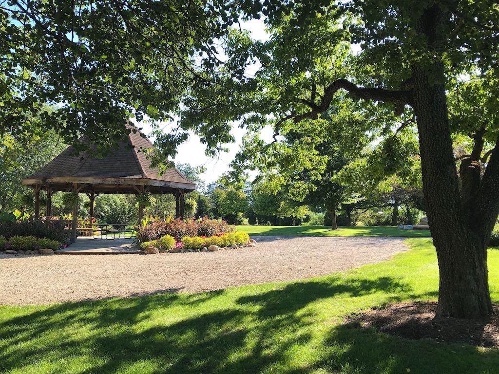 Gazebo at Mavery Gelvin Botanical Garden