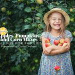 apple picking, pumpkin patches, corn mazes
