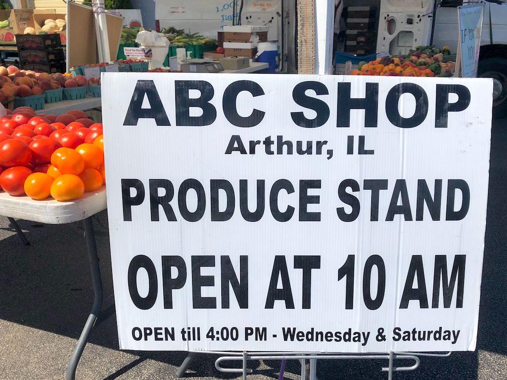ABC Shop Produce Stand