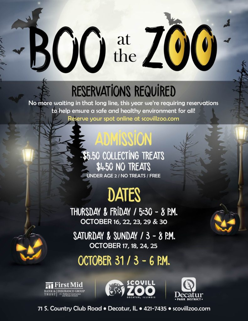 Boo at the Zoo - Scovill Zoo