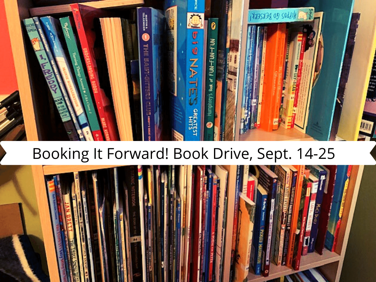 Booking It Forward! Book Drive Champaign County