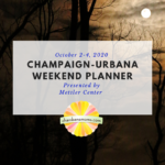 weekend planner oct 2-4 square