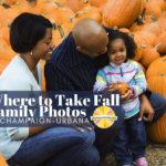 Where to take fall family photos in C-U