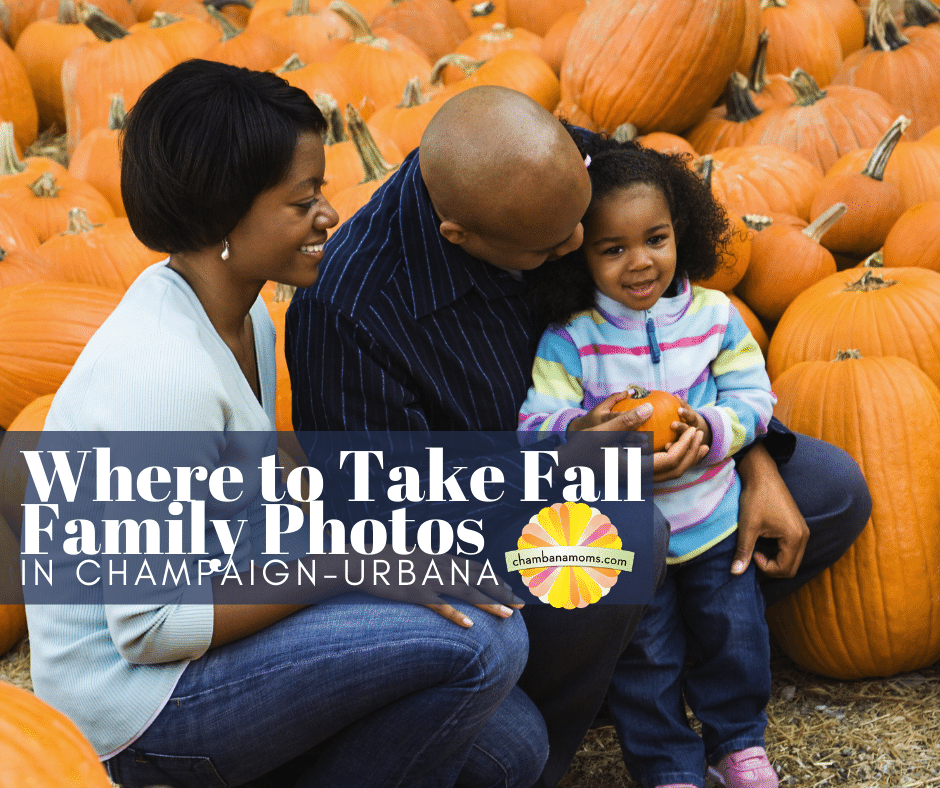 Where to take fall family photos in C-U