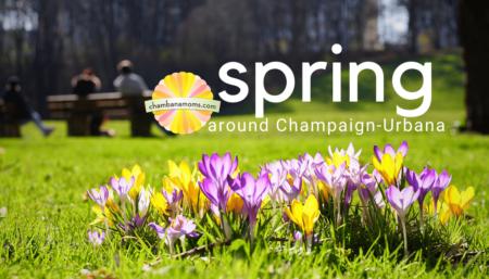 spring around champaign-urbana