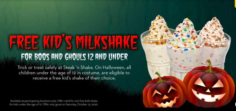 Halloween Steak and Shake Champaign