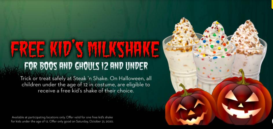 Halloween Steak and Shake Champaign