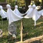 Dancing ghosts at Church and McKinley