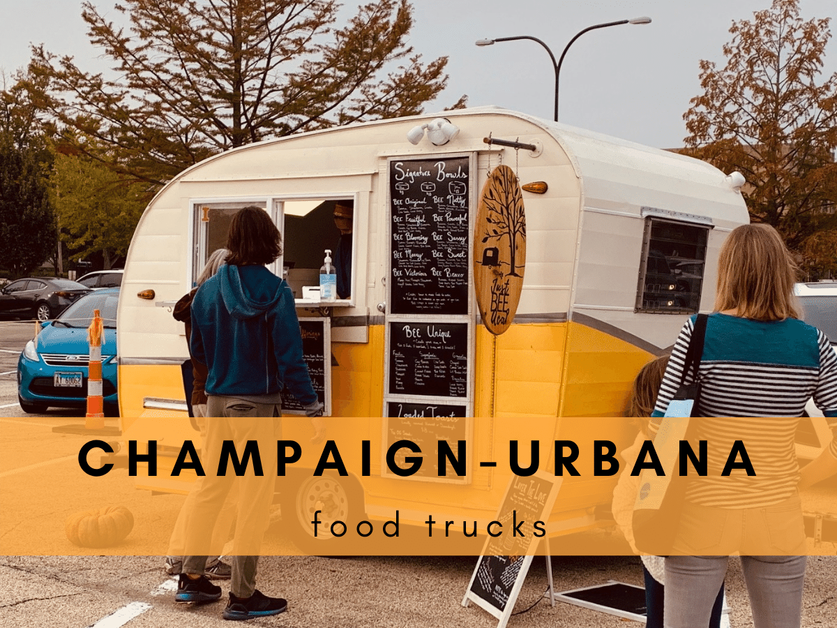 champaign urbana food trucks Just Bee Acai
