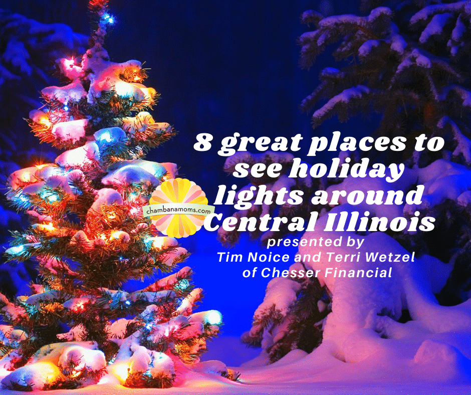 Christmas Displays In Illinois 2020 8 Great Places to See Holiday Lights in Central Illinois