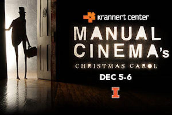 Krannert Center Manual Cinema's Christmas Carol