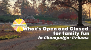 What's Open & Closed for Family Fun in Champaign-Urbana