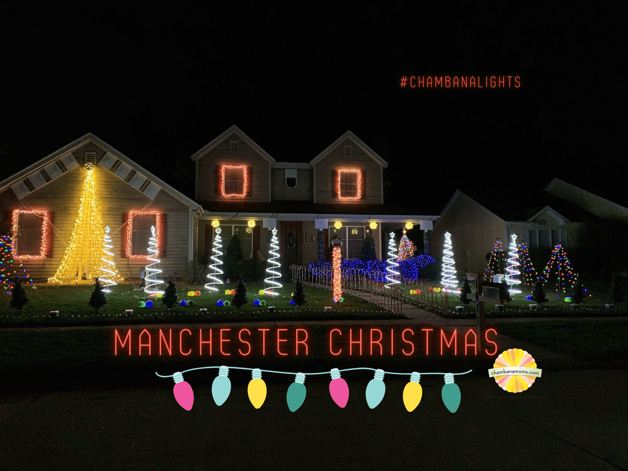 Manchester Christmas Lights Show is a Delightful Addition to the Champaign Holiday Season ...