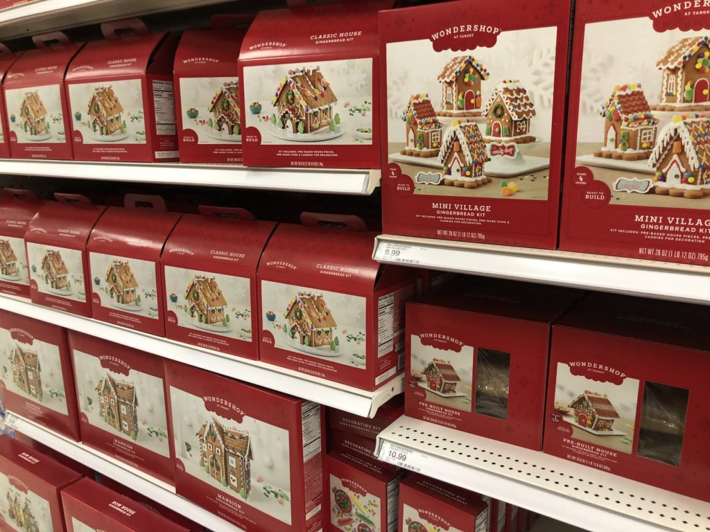 target gingerbread options