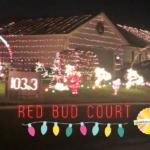 Red Bud Court Christmas Lights
