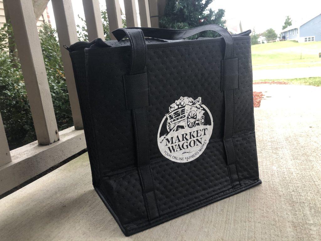 Market Wagon delivery arrives