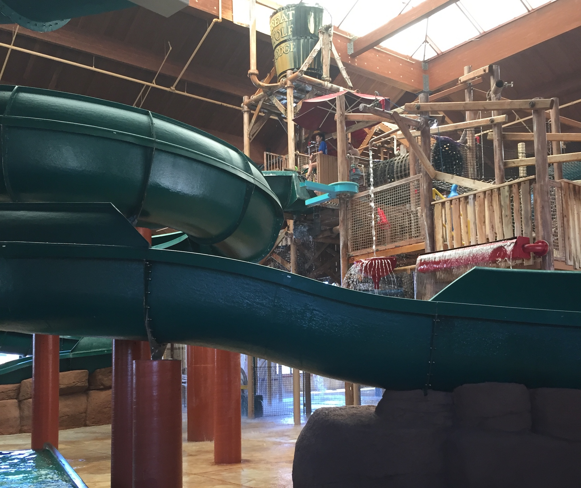 Slide away at indoor waterparks in the Midwest