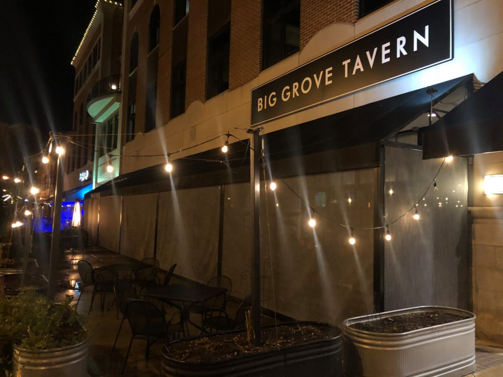 big grove tavern screen