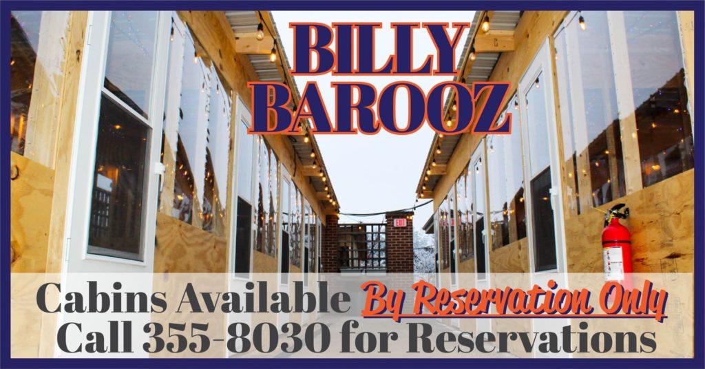 billy barooz cabins