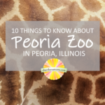 Visiting the Peoria Zoo