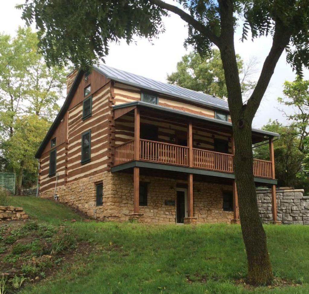Homestead Hideaway log cabin