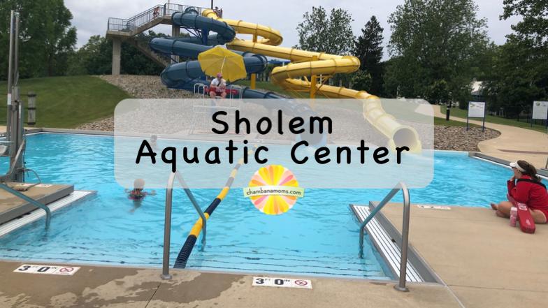 Visiting Sholem Aquatic Center with kids