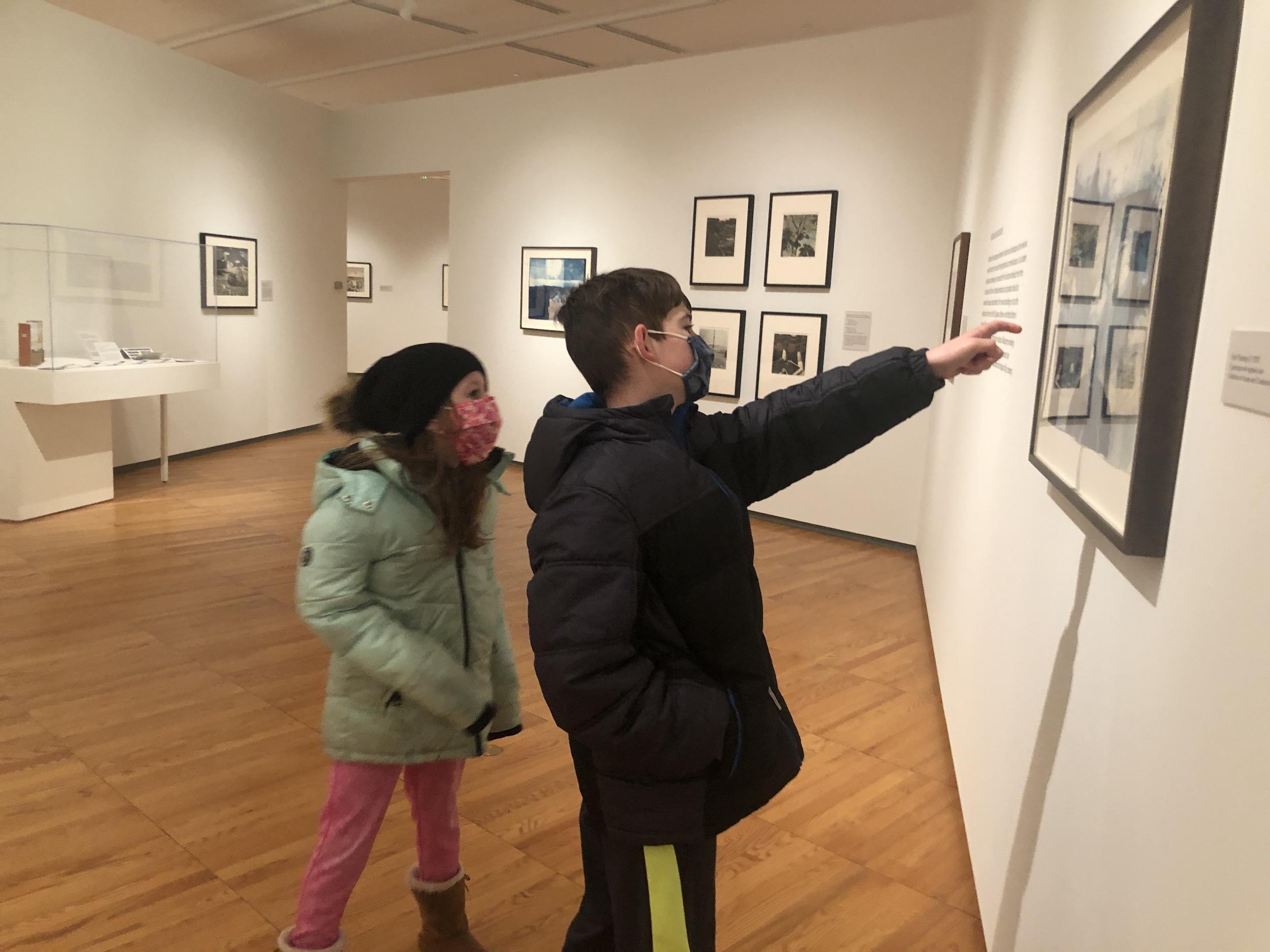 Kids at Krannert Art Museum