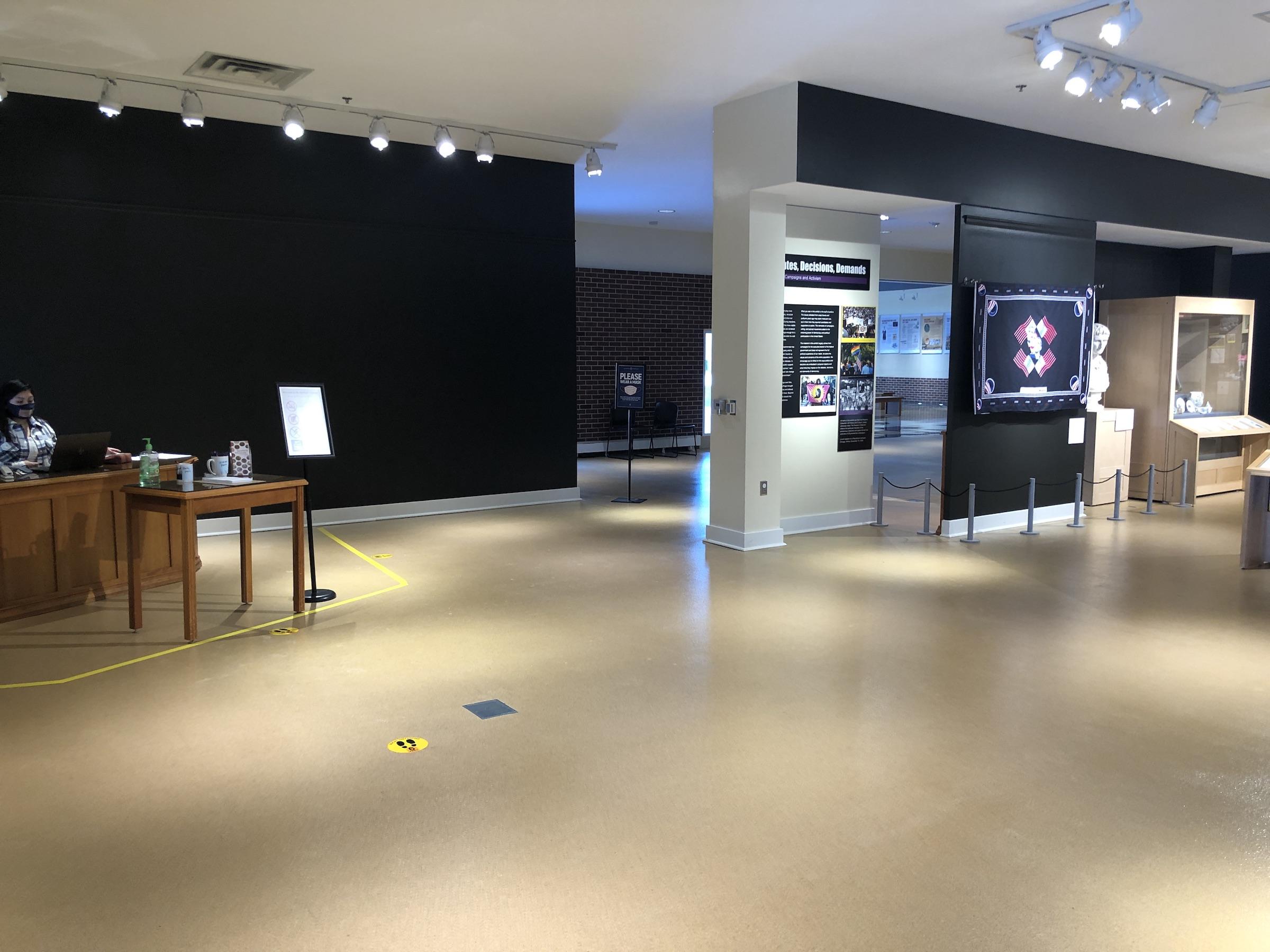 entrance to spurlock museum