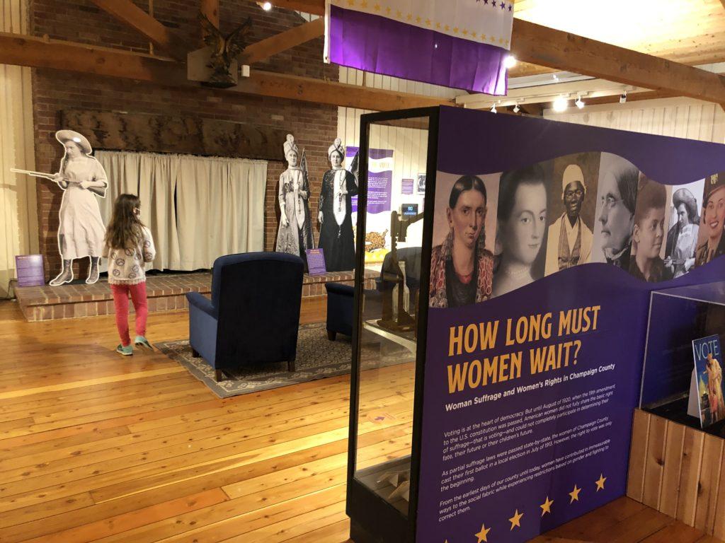How long must women wait exhibit