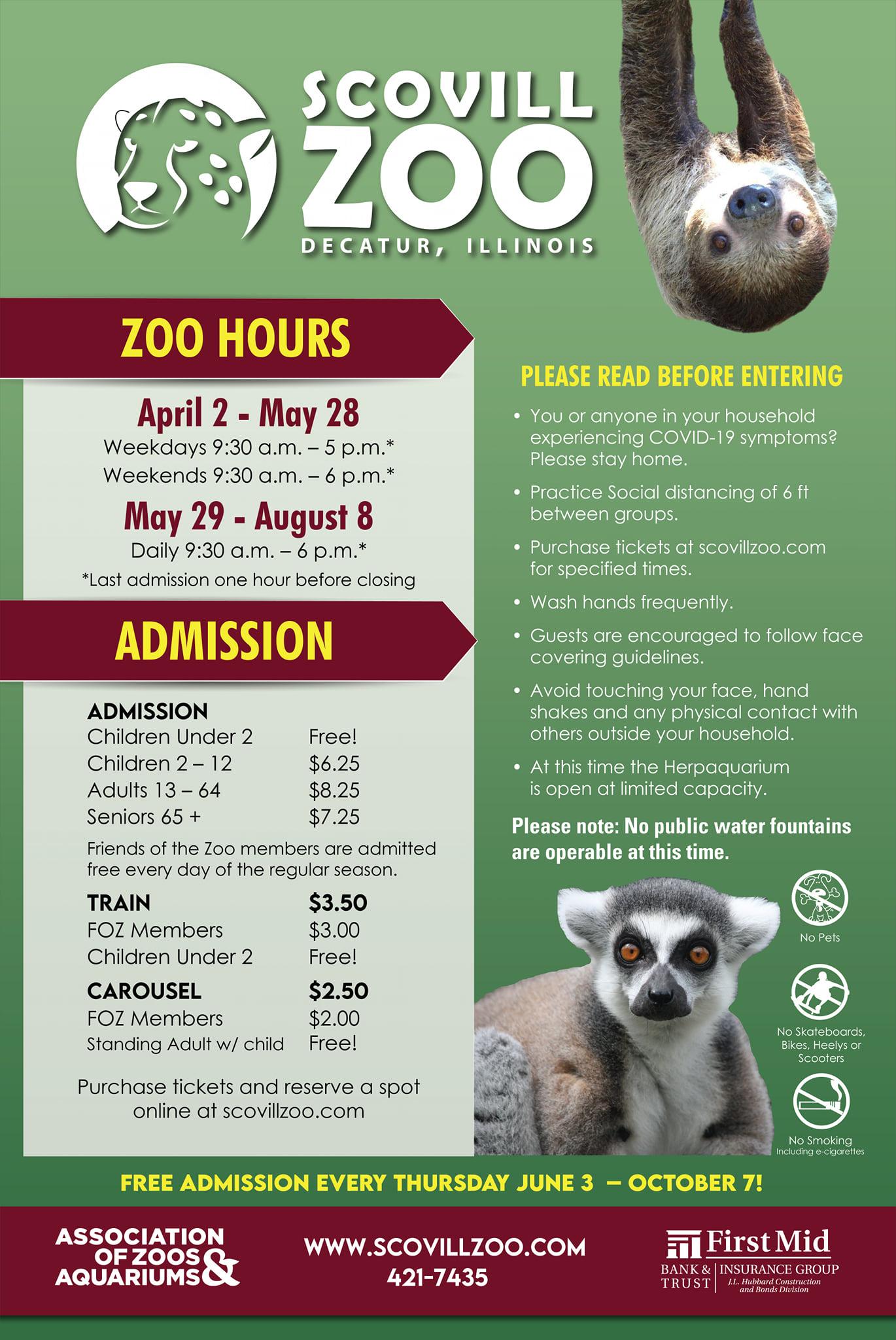 Scovill Zoo 2021