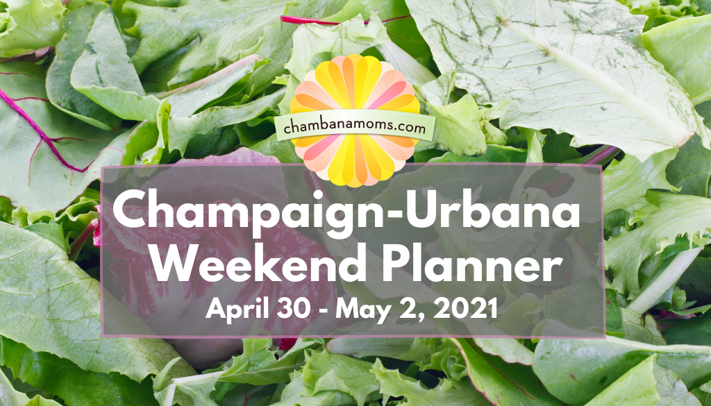 Champaign-Urbana Weekend Planner Header April 30