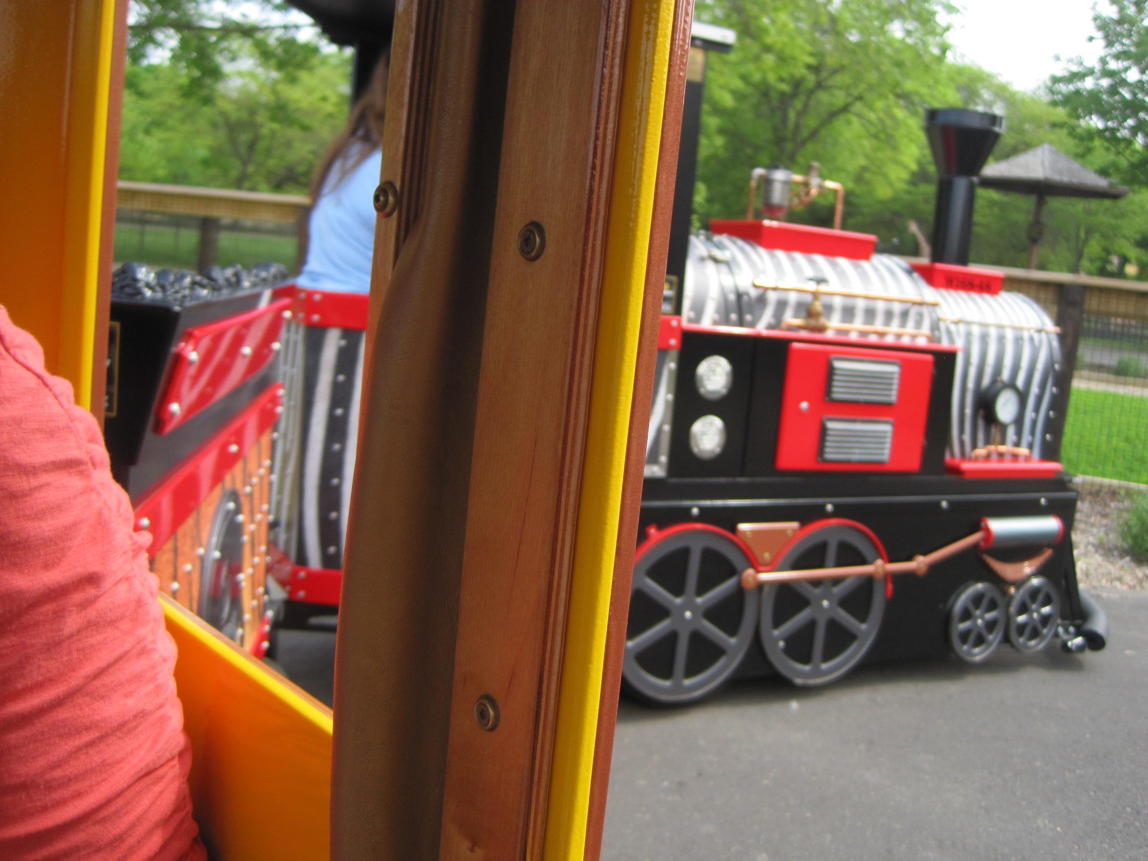 Train Ride at Henry Vilas Zoo