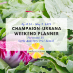 Weekend Planner Square April 30