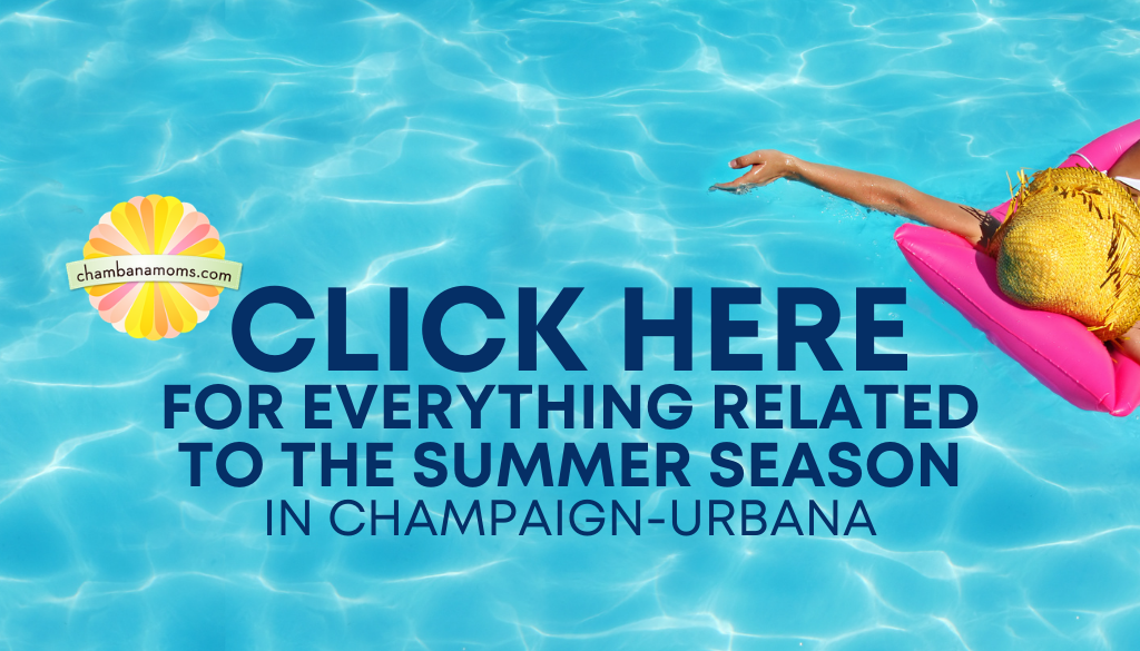 Check here for everything related to summer in Champaign-Urbana