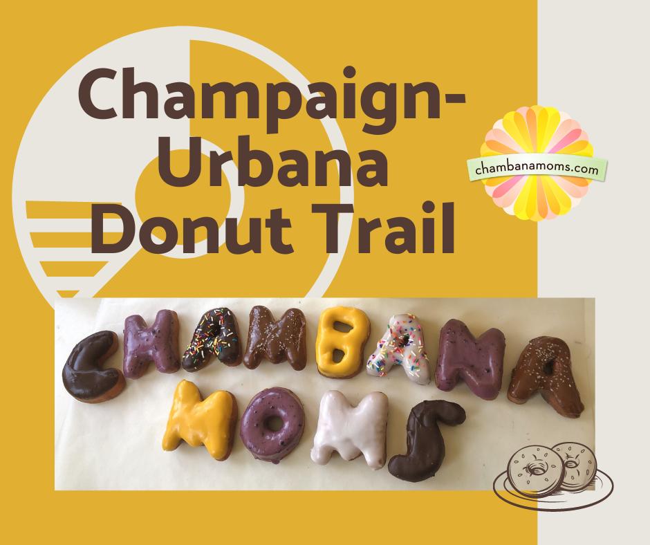 Champaign urbana donut trail