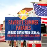 summer parades around Champaign-Urbana