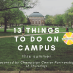 13 Things to do on Campus This Summer