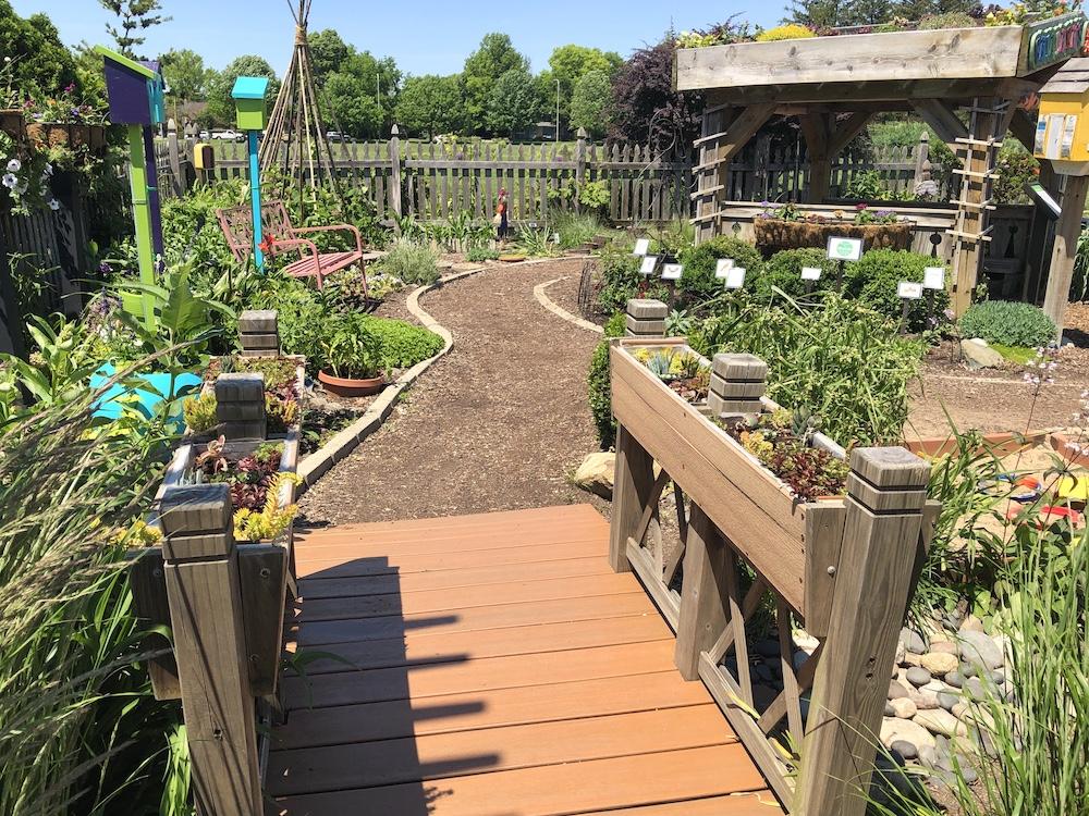 Bridge to Children's Garden