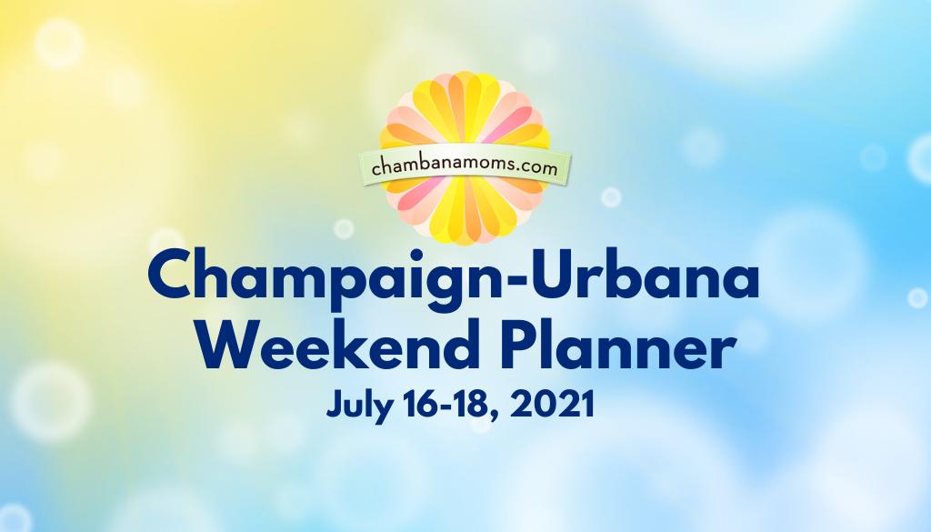 Champaign Urbana Weekend Planner Header July 16