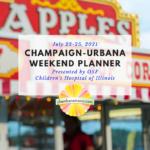 Champaign-Urbana Weekend Planner Square Fair Weekend