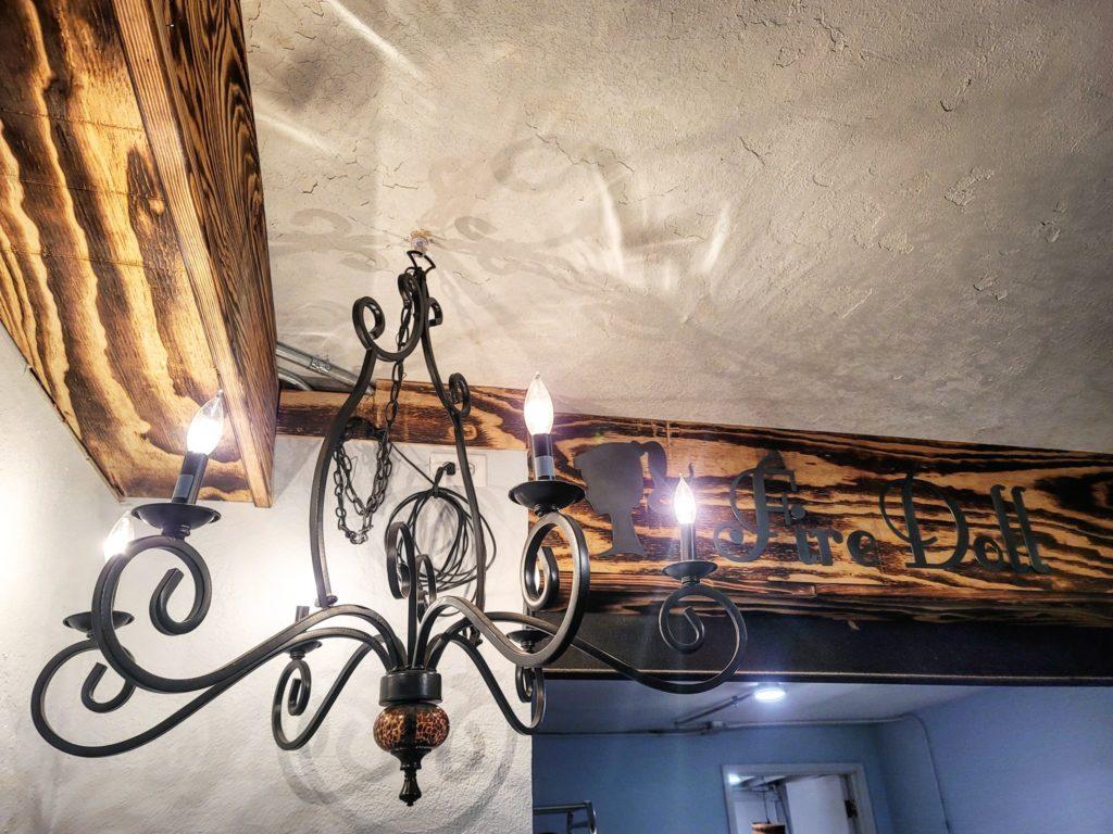 Fire doll studio chandelier