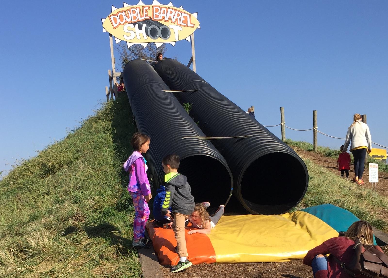 Slides at Rader Family Farms