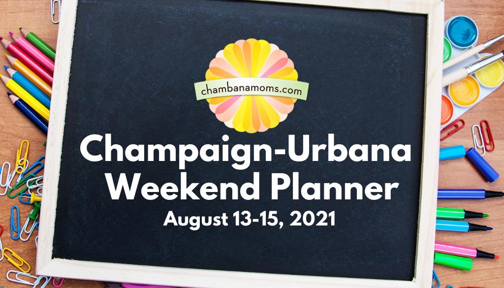 Champaign-Urbana Weekend Planner Header Back to School
