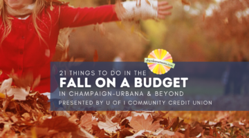 Fall Fun on a Budget in Champaign-Urbana
