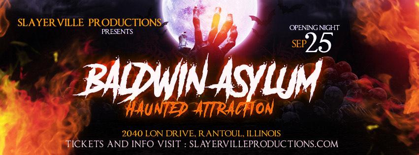 Baldwin Asylum Haunted Attraction, Rantoul IL
