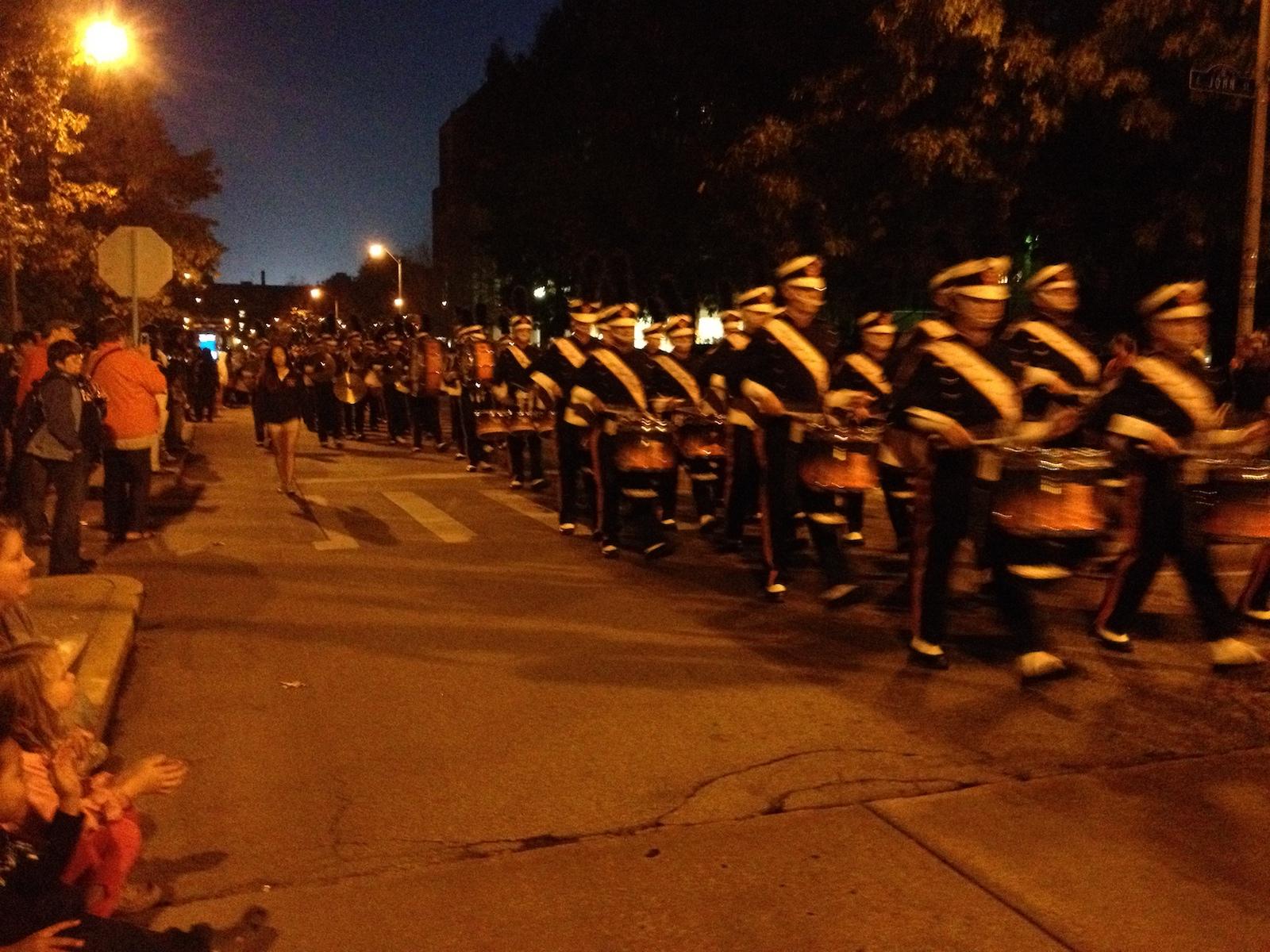 Marching Illini Homecoming Parade
