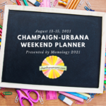 Weekend Planner Square Back to School