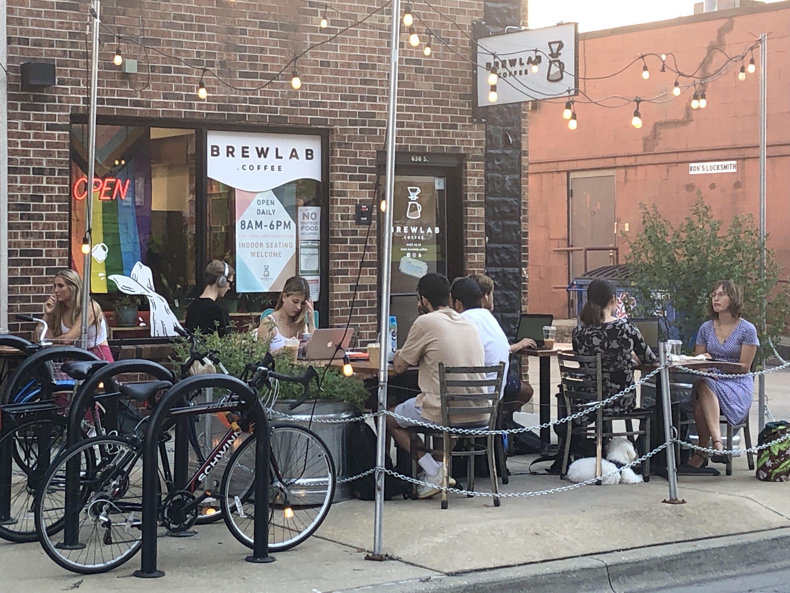BrewLab coffee shop